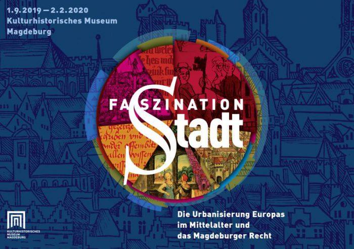 """Hauptmotiv der Ausstellung """"Faszination Stadt"""""""